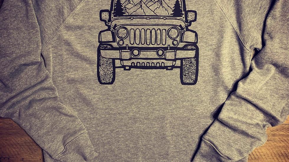 Jeep Mountains Sweatshirt