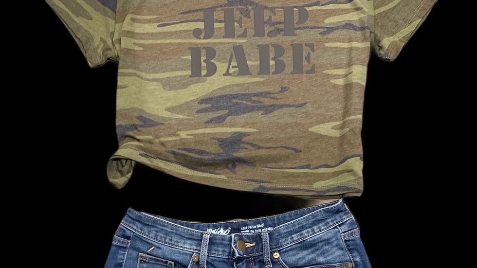 Jeep Babe Crop Top