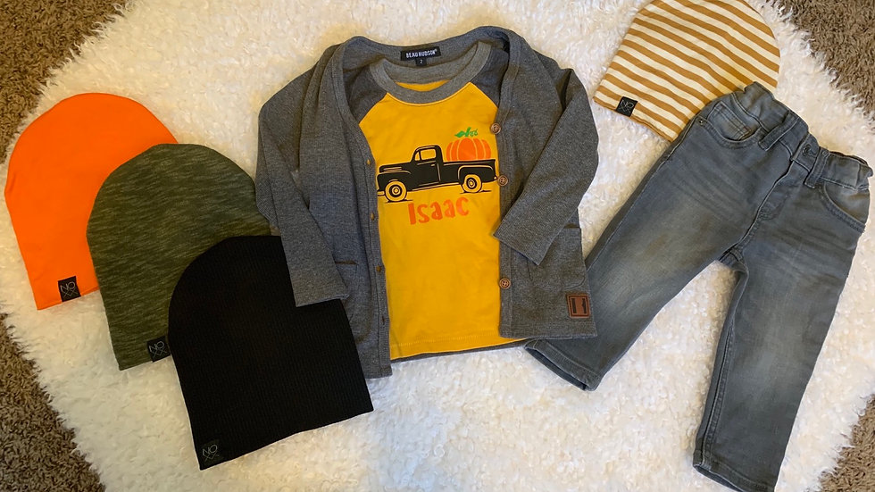 Personalized Children's Fall Raglan