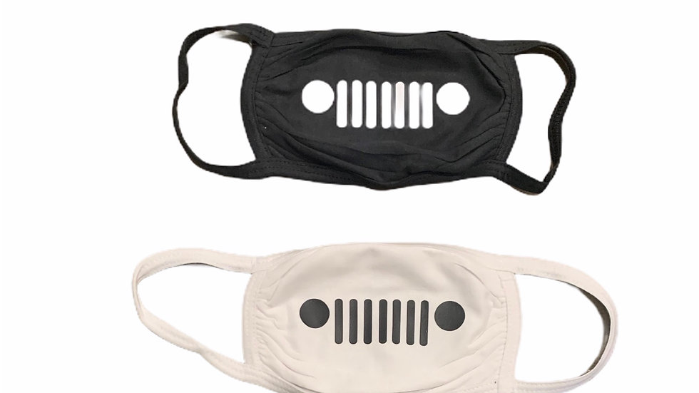 Jeep Grille Mask