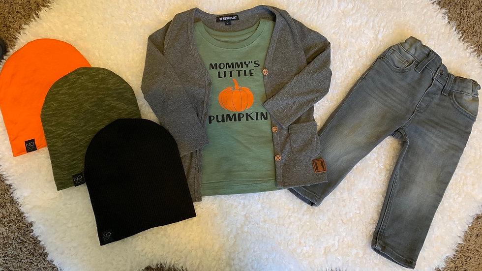 Mommy's Little Pumpkin Long  Sleeve T-Shirt