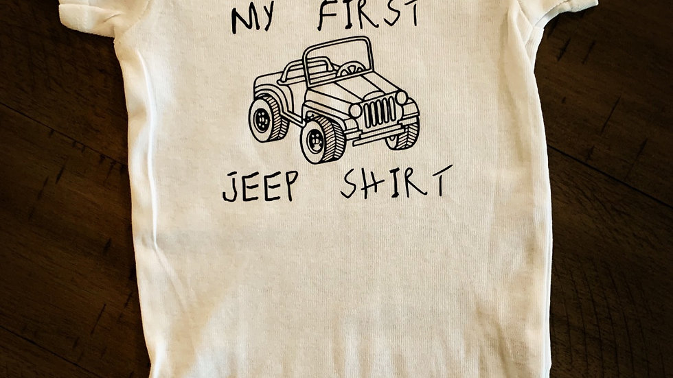 My First Jeep Shirt