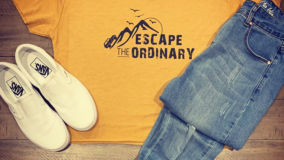 Escape The Ordinary Crop Tee