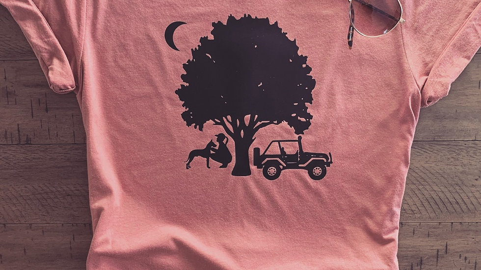 Dogs, Jeeps & Nature Tee