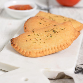 Cheesy Vegan Calzones