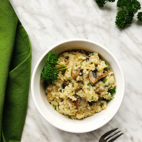Instant Pot Risotto with Mushrooms