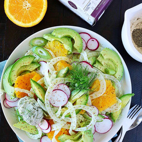 Avocado Citrus Salad with Fennel