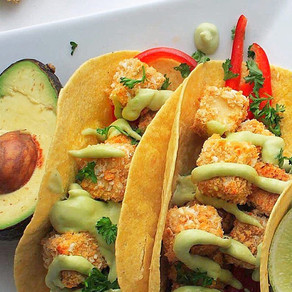Tacos croustillants au tofu