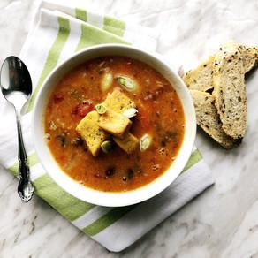 Instant Pot Vegan Tuscan Tomato Soup