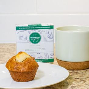 Muffins à la citrouille et au fromage à la crème végane