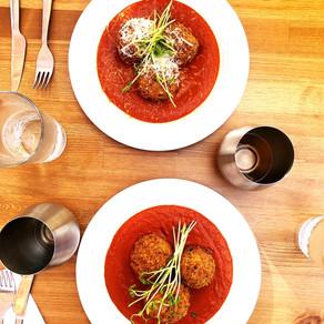 La Belle Sorelle's Vegan Arancini Recipe