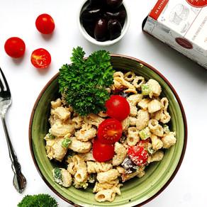Three dairy-free & vegan pasta salad recipes