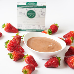 Creamy Vegan Chocolate Fruit Dip