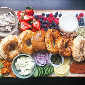 Sweet and Savoury Brunch Board
