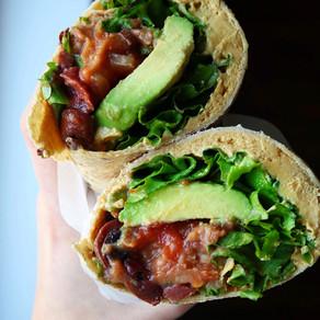 Burrito à déjeuner