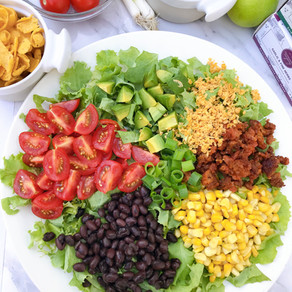 Zengarry Taco Salad with Herbed Cilantro Lime Dressing