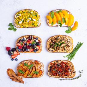 6 recettes de pain grillé santé