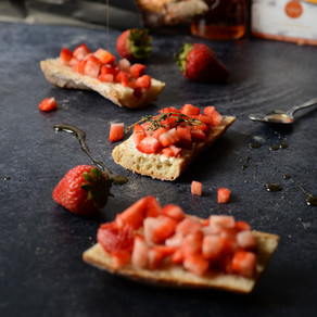 Strawberry & Brie Bruschetta