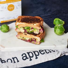 Sandwich aux restes du Thanksgiving