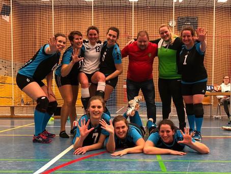 Weitere 2 Siege für die Volleyball-Damen