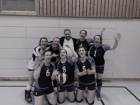Volleyball-Damen machen Meisterschaft frühzeitig klar!