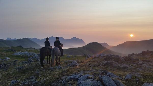 Horseback Riding in Lofoten, Ridetur, ridning i lofoten, ridetur i lofoten