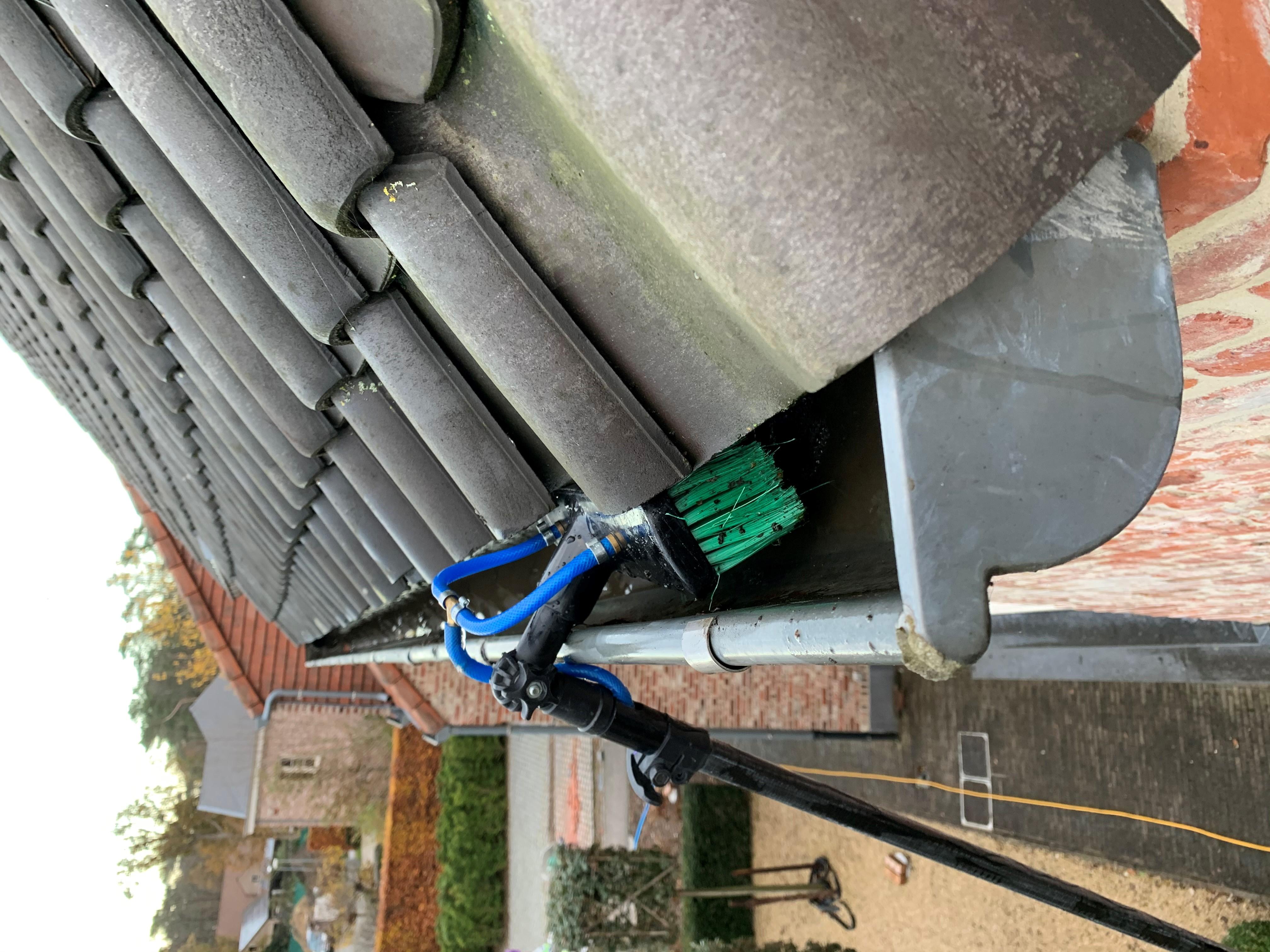 Onderhoud van dakgoten