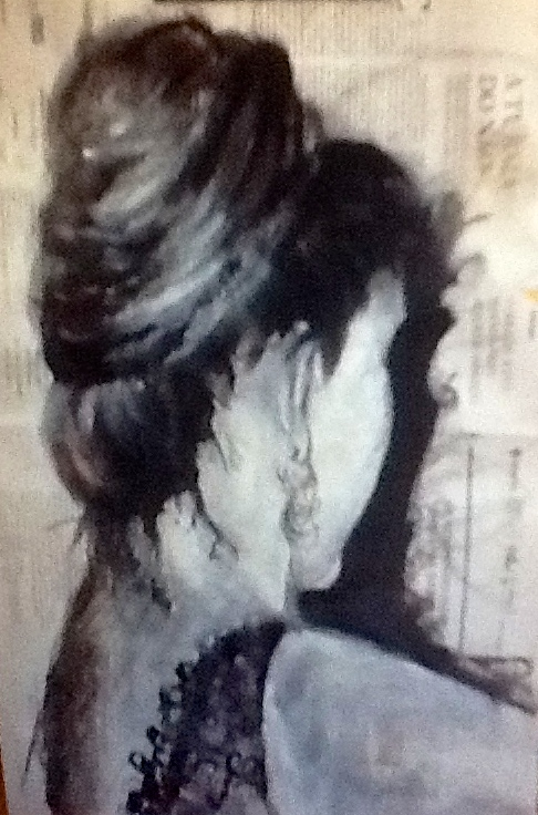 """""""Auto retrato""""- 2015"""