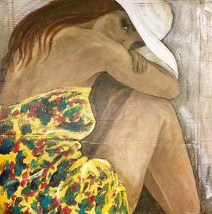 ...de Canga Amarela, 65 x 66cm, Técnica Mista sobre papelão