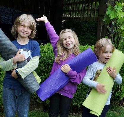 Jessie Low - Yoga For Children
