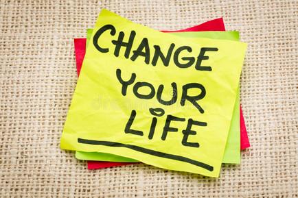 Mude sua vida...