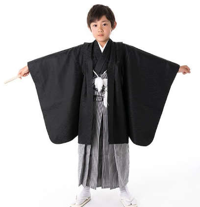 小学生男の子羽織袴