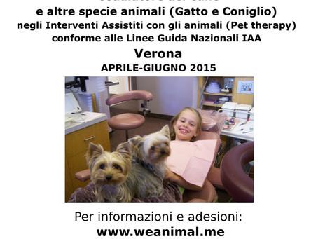 Corso Coadiutori Cani negli IAA