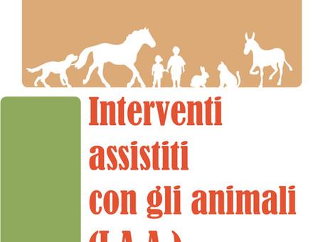 """Gli Interventi Assistiti con gli animali, un Settore """"invisibile"""""""