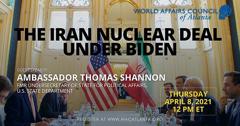 Iran Under Biden feat. Amb. Shannon Apri