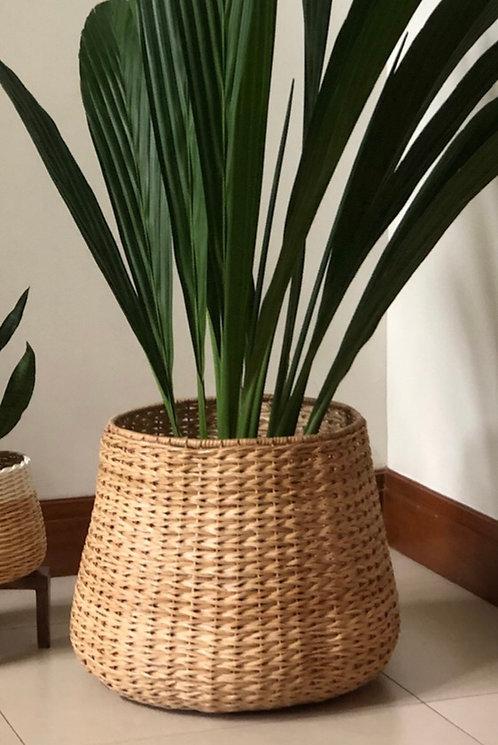 Wicker Bulge Planter