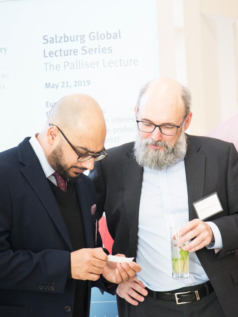 2019 Palliser Lecture
