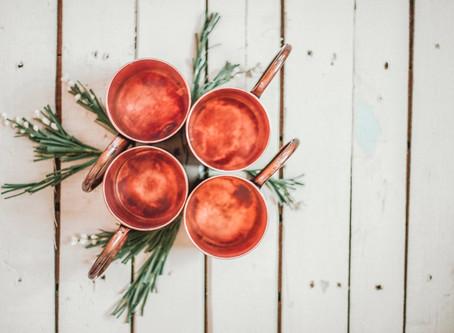 Merry & Bright | Copper Christmas Mugs 2016