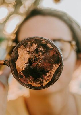 handlebend copper mugs