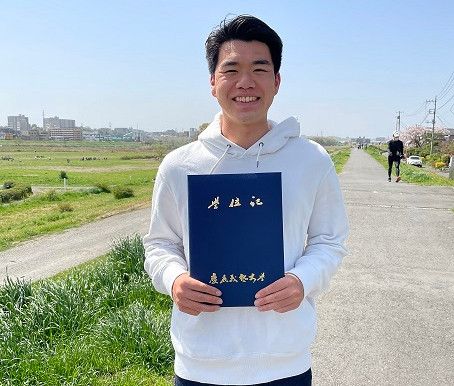 🌸祝・卒業🌸大学生サポーター・ヒロキくん