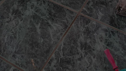 Testing for drummy tiles- before and after
