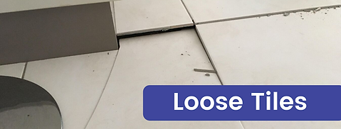 Loose Floor Tiles from de-lamination