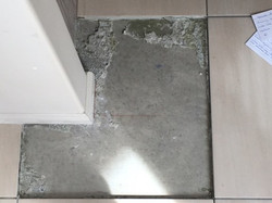Hollow Tiles- Lack of Adhesion