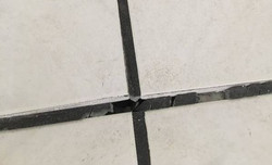 Cracked and Crumbly Grout