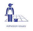 Adhesion issues cause drummy tiles