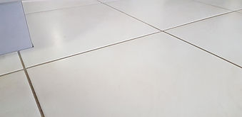 After tile injection to fix tenting tiles