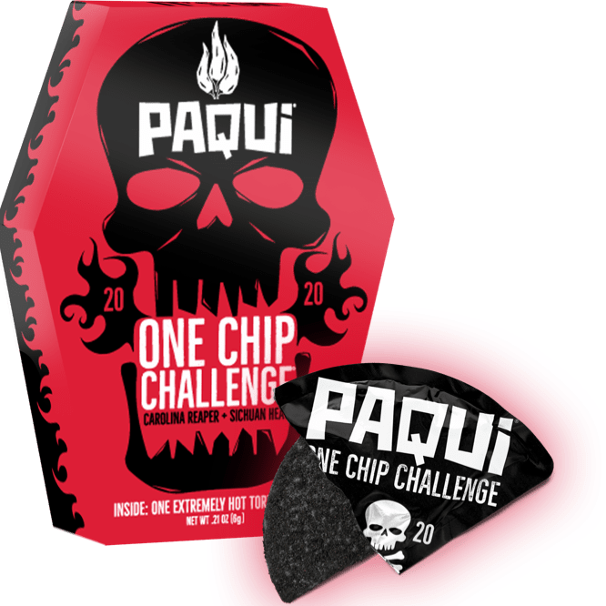 The Paqui 2020 - (More than one) 'One Chip Challenge'