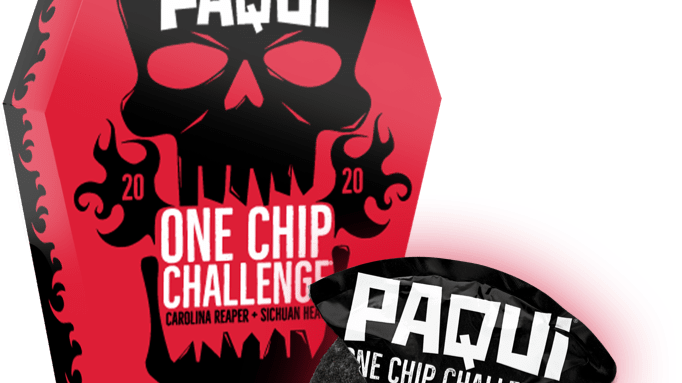 £1,000  PAQUI ONE CHIP CHALLANGE