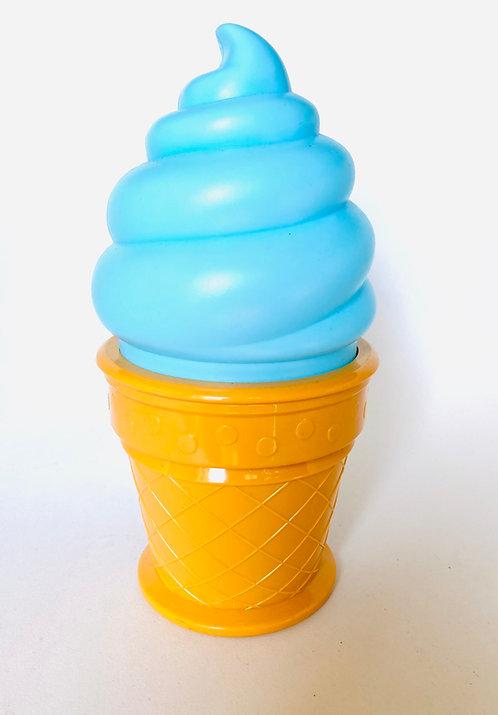 Veilleuse glace bleue