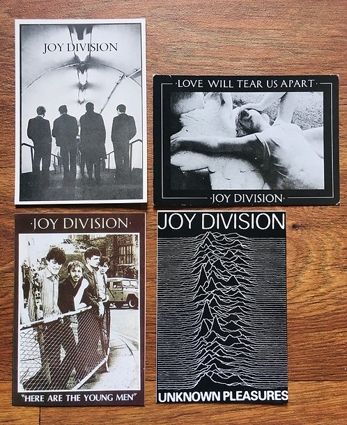 Cartes Postales Joy Division